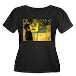Music Women's Plus Size Scoop Neck Dark T-Shirt