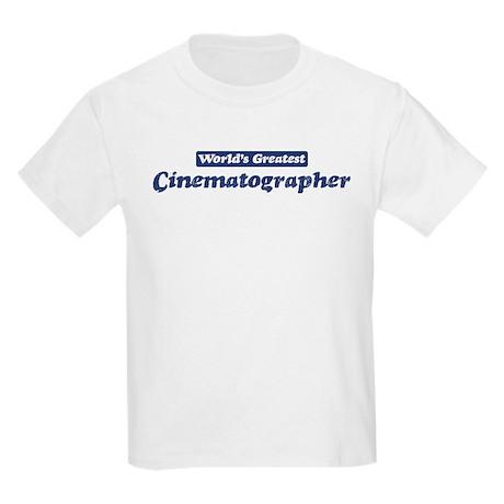 Worlds greatest Cinematograph Kids Light T-Shirt