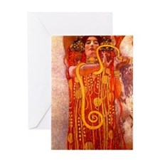 Hygeia Greeting Card