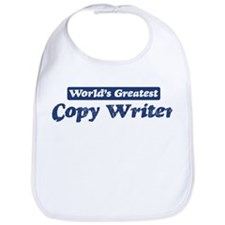 Worlds greatest Copy Writer Bib