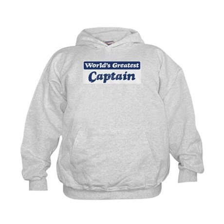 Worlds greatest Captain Kids Hoodie