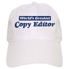 Worlds greatest Copy Editor Baseball Cap
