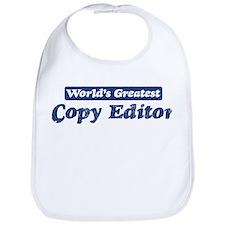 Worlds greatest Copy Editor Bib