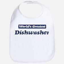 Worlds greatest Dishwasher Bib