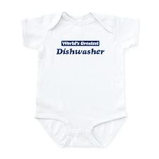 Worlds greatest Dishwasher Infant Bodysuit