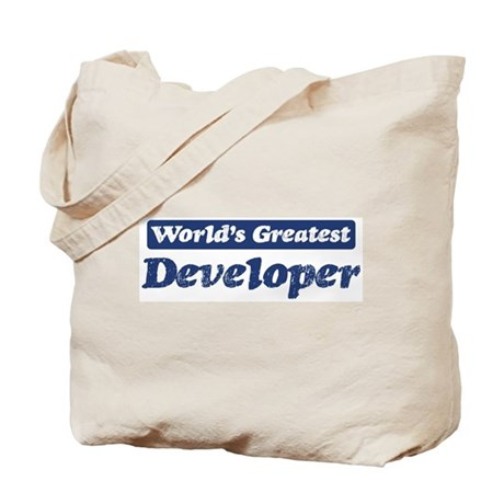 Worlds greatest Developer Tote Bag