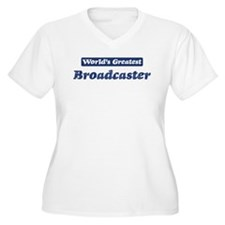 Worlds greatest Broadcaster T-Shirt