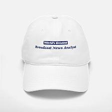 Worlds greatest Broadcast New Baseball Baseball Cap