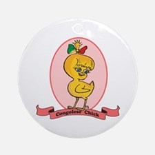 Congolese Chick Ornament (Round)