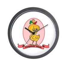 Congolese Chick Wall Clock