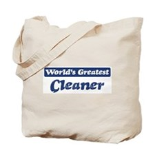 Worlds greatest Cleaner Tote Bag