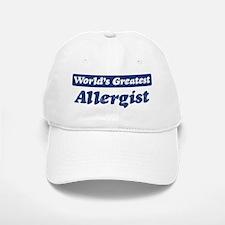 Worlds greatest Allergist Baseball Baseball Cap