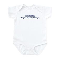 Worlds greatest Airport Secur Infant Bodysuit