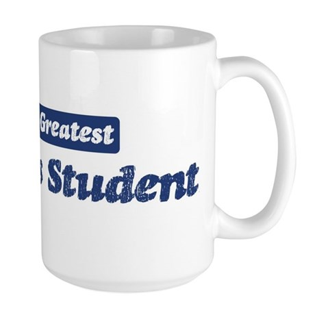 Worlds greatest Agnostics Stu Large Mug