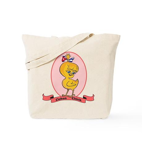 Cuban Chick Tote Bag
