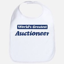 Worlds greatest Auctioneer Bib