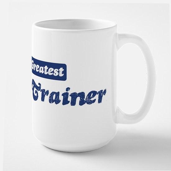 Worlds greatest Athletic Trai Large Mug