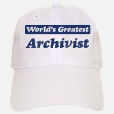 Worlds greatest Archivist Baseball Baseball Cap