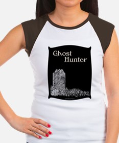 Old Tombstone Ghost Hunter Women's Cap Sleeve Tee