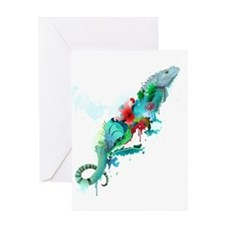 Artistic Expression Greeting Card
