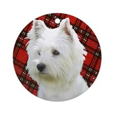 Westies are the Besties! Ornament (Round)