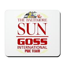 Baltimore Sun-Goss-Color Logo Mousepad