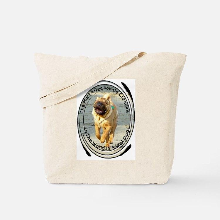 Cute Chinese shar pei Tote Bag