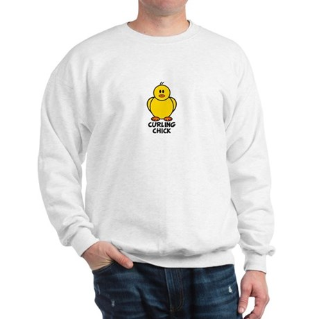 Curling Chick Sweatshirt