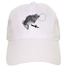 Largemouthed Bass Baseball Cap