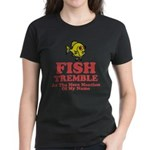 Fish Tremble Women's Dark T-Shirt