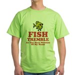 Fish Tremble Green T-Shirt