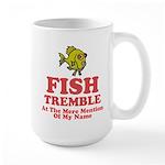 Fish Tremble Large Mug