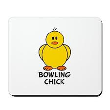 Bowling Chick Mousepad
