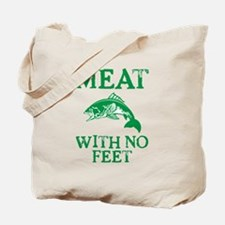 Meat With No Feet Tote Bag