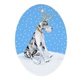 Reindeer Oval Ornaments