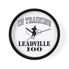 In Training Leadville 100 Wall Clock