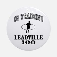 In Training Leadville 100 Ornament (Round)