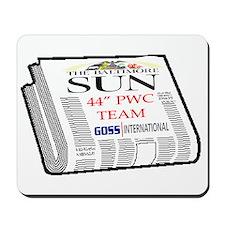 Baltimore Sun Newspaper-PWC t Mousepad