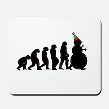 Evolution of Snowman Mousepad