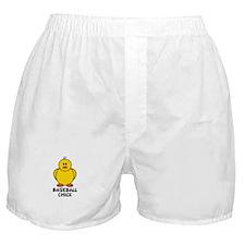 Baseball Chick Boxer Shorts