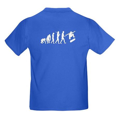 Skateboarder Kids Dark T-Shirt