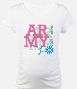 Army Girlfriend - Pink Shirt