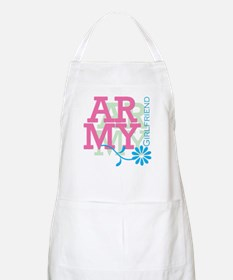 Army Girlfriend - Pink BBQ Apron