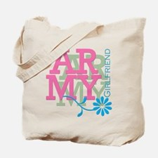Army Girlfriend - Pink Tote Bag