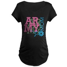 Army Mom - Pink T-Shirt