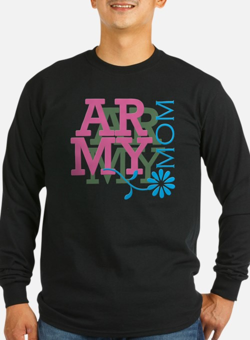 Army Mom - Pink T