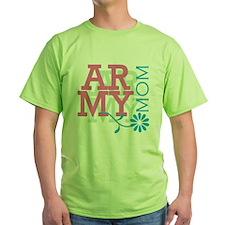 Army Mom - Pink T-Shirt
