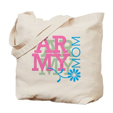 Army Mom - Pink Tote Bag