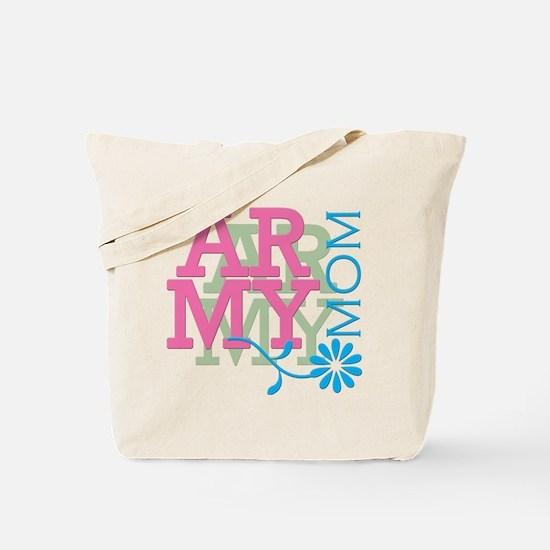 Army Mom - Pink Tote Bag