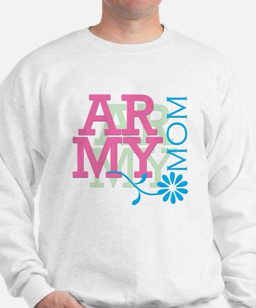 Army Mom - Pink Sweatshirt